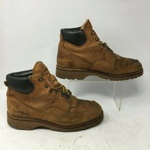 Red Wing Mens 9.5 Casual Ankle Boots Brown Leather